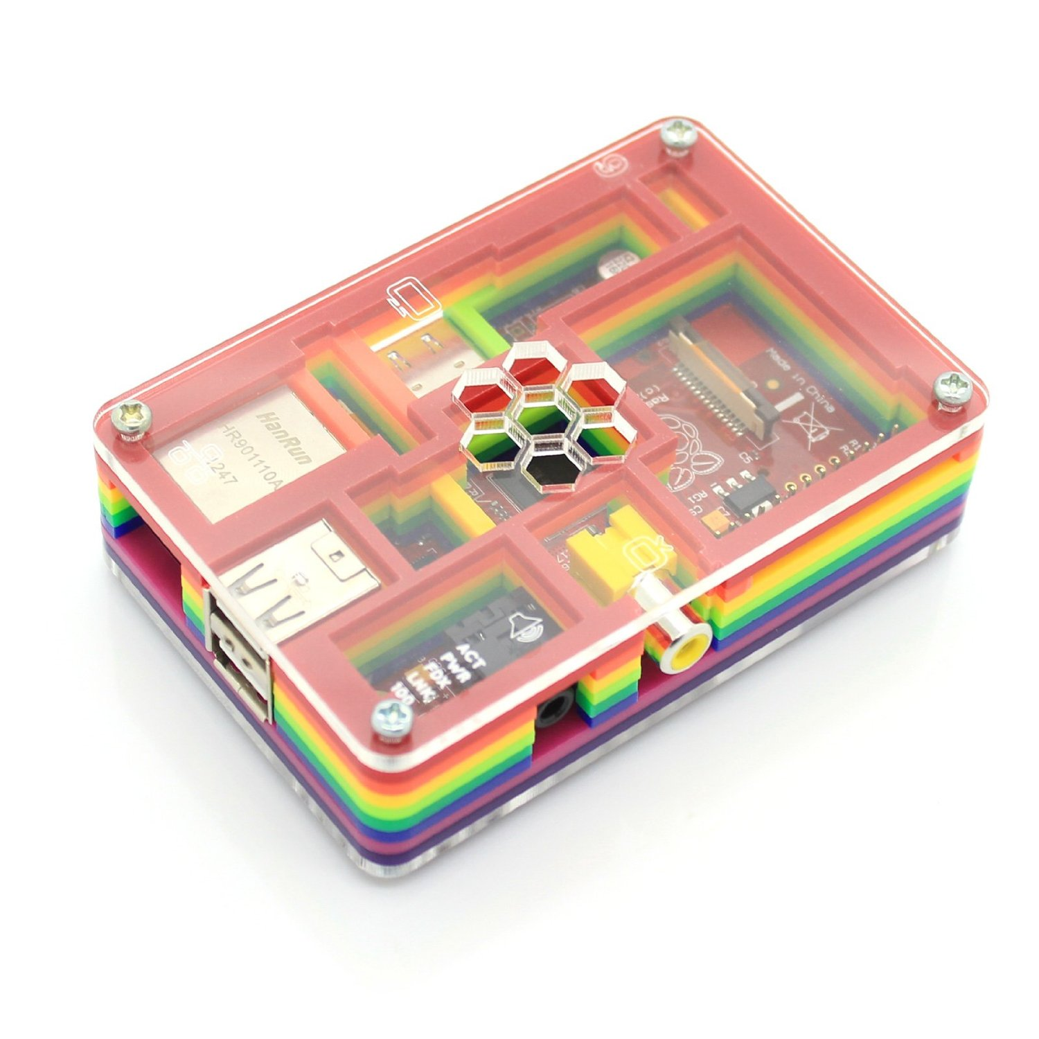 Raspberry Pi Rainbow Case