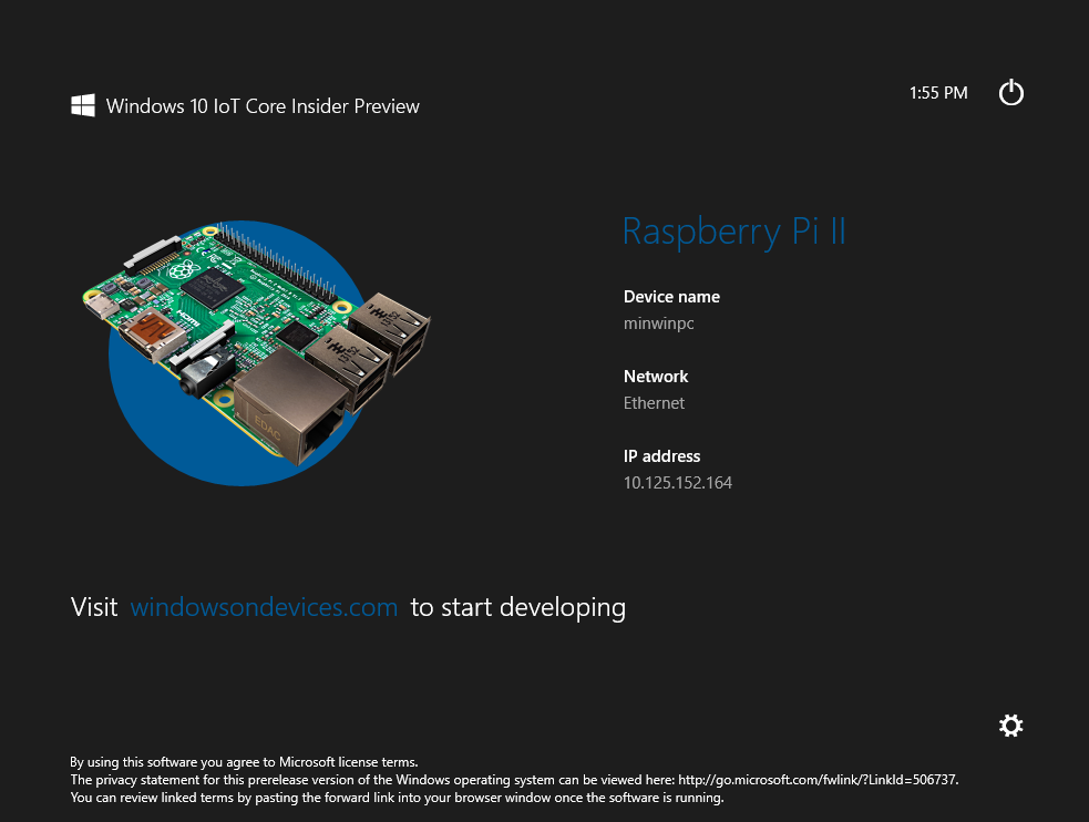 Raspberry pi 3 windows 10 iot download