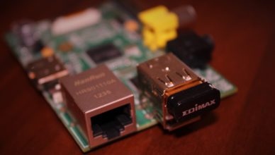 Raspberry Pi with external WiFi Adapter