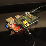 Raspberry Pi - connected to Receiver