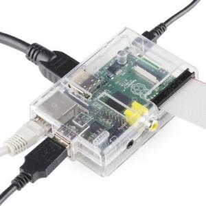 Clear Raspberry Pi Case